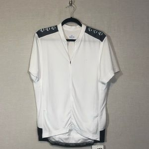 Tops - Pearl Izumi Womens White Cycling Jersey Size Large